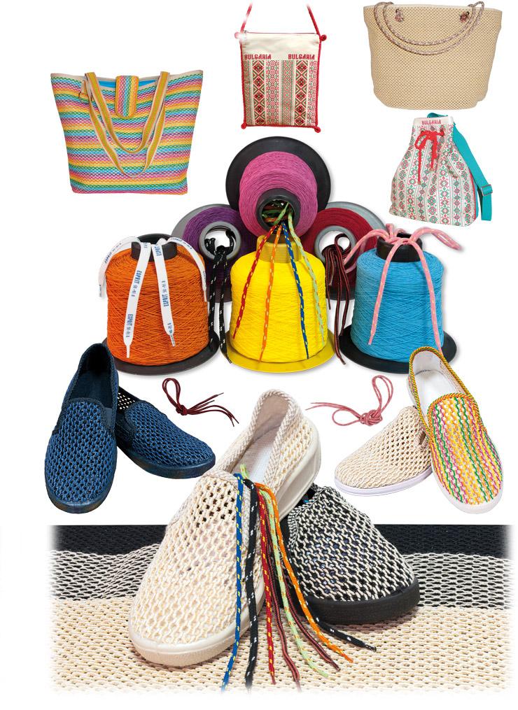 Мрежа и връзки за обувки, облечена еластична нишка, дизайнерски чанти - Страница 5